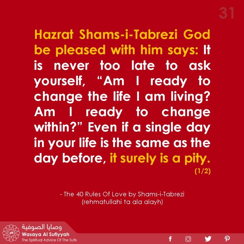 Wasaya Al Sufiyyah post Sufi Quotes 31